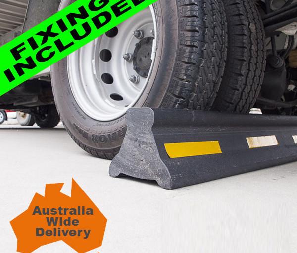 Truck Wheel Stops-1250mm Long x 150mm High x 150mm Wide &