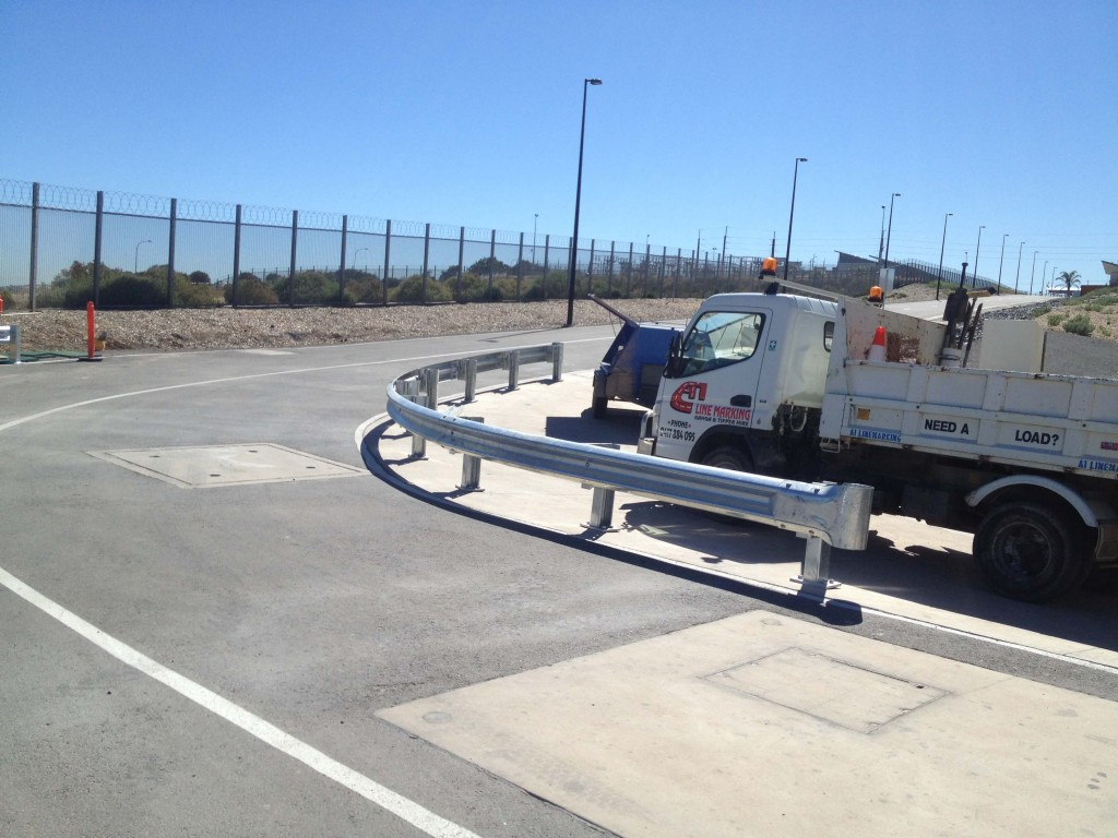 Barrier rails