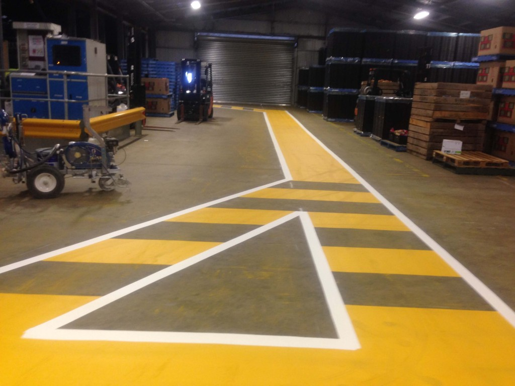 Linemarking (OH & S lines)