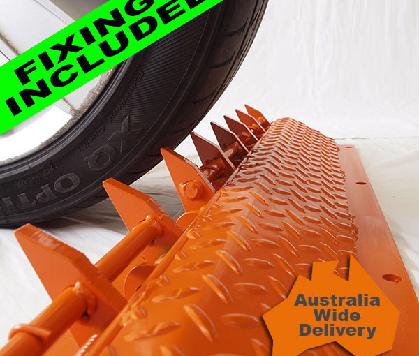 Enforcer One Way Road Spikes-900mm Long, Free Delivery and