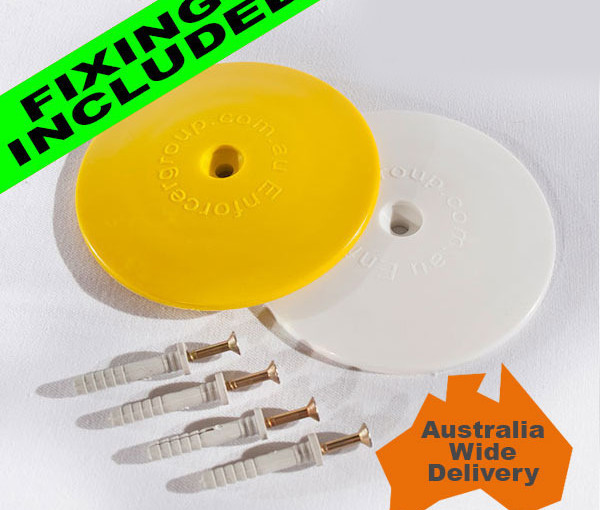 Marking Dots, 100mm Diameter -Free Delivery and Mounting Pins